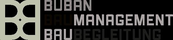 Buban Baumanagement und Baubegleitung